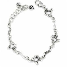 Tuscan Tuscan Etched Heart Bracelet