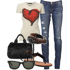 Casual, created by lexis2584 on Polyvore