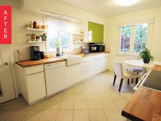 Before & After: Former Rental Kitchen Gets Pop of Personality