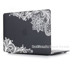 New Fashion For Girls Matte Lace Hard Case Cover for Macbook Air 13 12 11 Pro 13 15 inch With Retina Laptop Sleeve Accessories - TMACHE