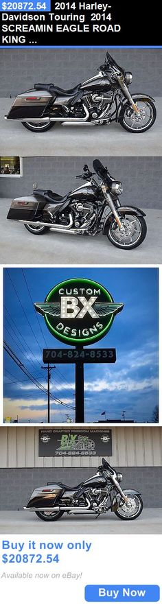 Motorcycles: 2014 Harley-Davidson Touring 2014 Screamin Eagle Road King Cvo *Stunning** $3K In Xtras!! Best On Ebay!! BUY IT NOW ONLY: $20872.54 #harleydavidsonroadglideultra