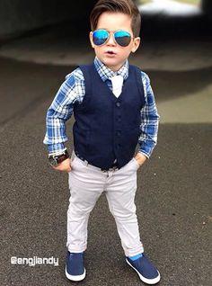Little Boy Fashion, Kids Fashion Boy, Toddler Fashion, Baby Boy Dress, Baby Boy Outfits, Outfits Niños, Kids Outfits, Toddler Swag, Kids Wear Boys