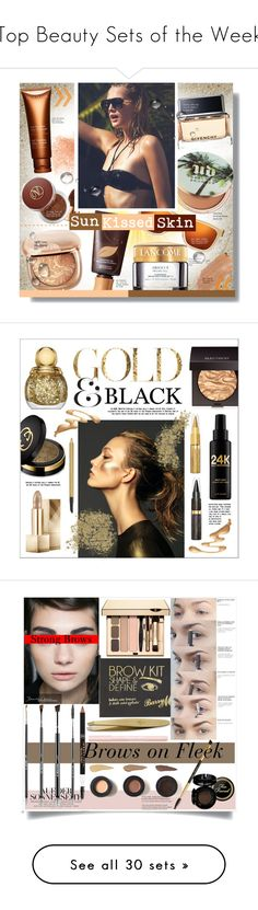 """""""Top Beauty Sets of the Week"""" by polyvore ❤ liked on Polyvore featuring beauty, Givenchy, Vita Liberata, Urban Decay, Karen Walker, Eve Lom, tarte, Clarins, Lancôme and Jane Iredale"""