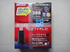 デスクトップに無線子機は「Baffalo社」製の 「WLI-UG-G301N」をチョイスしました!