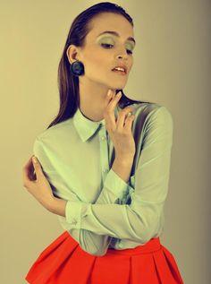 Photo by Michal Deska Photography model Justyna Rusnak/ Fashion Color