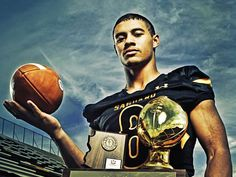 DJ Foster in high school. Saguaro SabreCats who would win 4 state titles during his tenure.