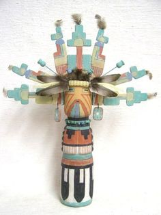 Vintage Hopi Salako Mana Hopi Cloud Maiden Dancer Kachina
