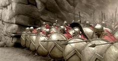 z- Leonidas & His  Spartans Lock Shields- '300 Spartans', 2006