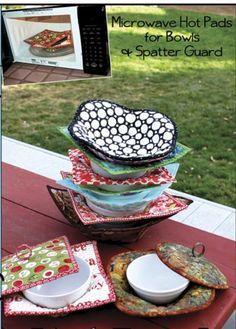 microwave soup bowl hot pad diy practical ideas pinterest bowls potholders and craft. Black Bedroom Furniture Sets. Home Design Ideas