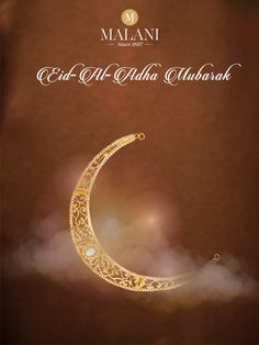 Here's wishing you and your family a glorious Eid.  #EidMubarak #MalaniJewelers  Happy Eid Al Adha, Eid Mubarak