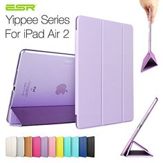 iPad Air 2 Case,ESR Yippee Color Series Smart Cover+Transparent Back Cover [Ultra Slim] [Light Weight] [Scratch-Resistant Lining] [Perfect Fit] [Auto Wake Up/Sleep Function] for[2014 Release] iPad Air 2 Cover (Fragrant Lavender) ESR http://www.amazon.com/dp/B00OFLMOFY/ref=cm_sw_r_pi_dp_.mKHub12MRZH5