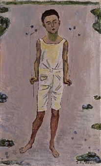 Bezauberter Knabe By Ferdinand Hodler ,1909