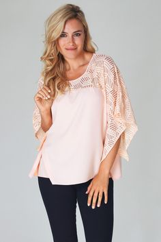 Light-Pink-Sheer-Textured-Top-Chiffon-Blouse