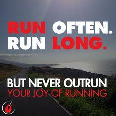 Take in the beauty of each run! #openroad #runningfree #runningmotivation