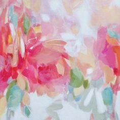 The Pink Pagoda: Artist Christina Baker || Titled work: Garden Party -- fantastic!!!