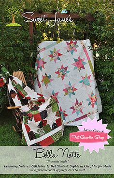 Bella Notte Quilt Pattern Sweet Jane's Quilting and Design