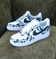 eff4c5c8411 Camouflage Custom Nike Air Force These are just dope. I know I post a lot  of air forces but people are so freakin creative with them