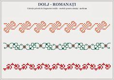 Semne Cusute: romanian traditional motifs - OLTENTIA - Dolj & Ro... Cross Stitch Heart, Hama Beads, Beading Patterns, Pixel Art, Stitch Patterns, Embroidery, Traditional, Romania, Palestine