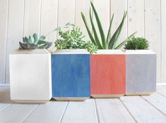 Yield Deign's Beautiful Birch Planter Boxes Give Your Plants a Pop of Color | Inhabitat - Sustainable Design Innovation, Eco Architecture, Green Building