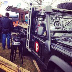 Voldaan Coffee Land Rover