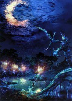 Final Fantasy X Macalania Woods