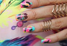 Decoración de uñas atrapa sueños 3-3 Beauty Nails, Hair Beauty, Nail Salon Design, Hair Tattoos, Nail Art, Trendy Nails, Manicure And Pedicure, Makeup Inspo, How To Do Nails