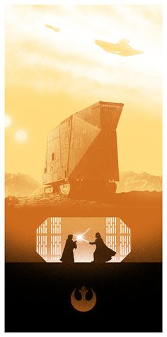 Star Wars Trilogy by Marko Manev, via Behance