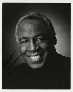 TV and Film Star Robert Guillaume Autograph Signed Photo - comes with certificate of authenticity. Guillaume is an American stage and television actor, known for his role as Benson on the TV-series So                                                                                                                                                      More