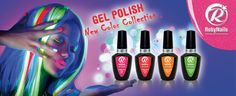 RobyNails Glimmer Neon Collection: four new ultra bright colors for a brilliant summer with plenty of energy
