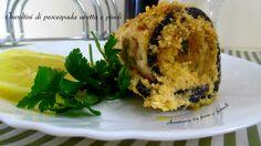 Involtini di pescespada uvetta e pinoli, un secondo piatto molto saporito e facile da realizzare. Gradito da tutti, anche dai bambini.