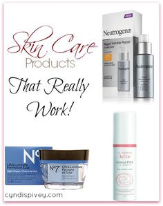 Skin Care Products That Really Work