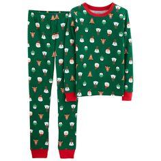 975253056 Carter's Toddler Boys 2-Pc. Fleece Holiday-Print Pajamas | Products ...