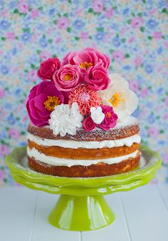Naked Cake and New Clay Flowers - Lulus Sweet Secrets