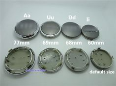 "free shipping 4pcs/lot 60mm A-U-D-I wheel Center Cap 2.36"" A4 A6 Q5 Q7 A3 A1 Wheel Hub Cap No.4B0601170 $10.90"
