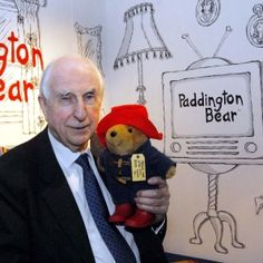 Michael Bond Writer. Born Newbury. His first book 'A Bear Called Paddington' was published in 1958. there have been 23 Paddington books. Also writes for adults.