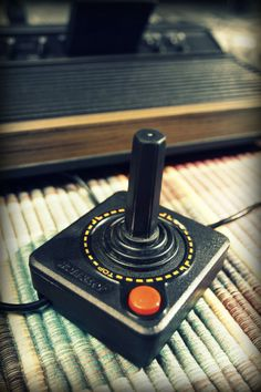 atari-I miss this type of controller I don't have to look at my fingers to play! LOL