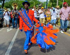 Pigeon Town Steppers Easter Second Line 2011