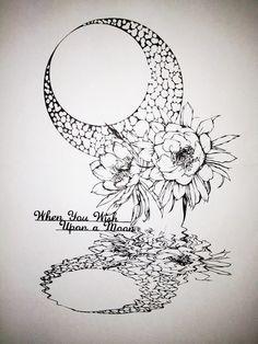 「切り絵 月下美人」/「紗妃」のイラスト [pixiv] …