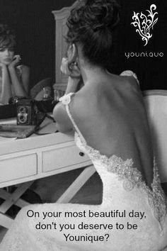 Younique products are a great addition to your makeup and skin care products as a way to prepare for your most special day!   www.youniqueproducts.com