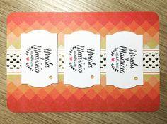 Etiquetas Rectangulares 08 #papeleriaboda #etiquetasboda #etiquetaspersonalizadas #bodaoriginal #boda #bodakraft #regalosinvitados #papeleria