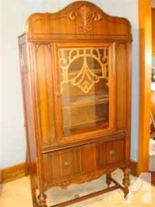 High Victorian China Cabinet - $400 (Butler)