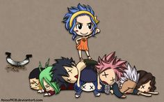 Fairy Tail ---  GAJEEL IN THE BACKGROUND!!!!!!!!!!