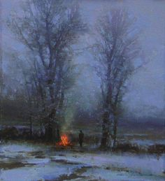 """""""Night is Drawing Nigh"""" by BRENT  COTTON - animated picture"""
