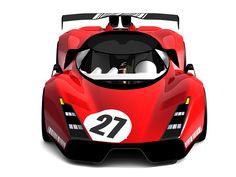 Ferrari P4 Impression on Behance