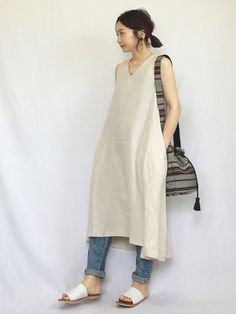 chanpeko|IENA SLOBEのデニムパンツを使ったコーディネート - WEAR Japanese Outfits, Japanese Fashion, Japan Fashion Casual, Edgy Outfits, Fashion Outfits, Conceptual Fashion, Tie Dye Fashion, Everyday Outfits, Minimalist Fashion