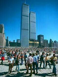 Opening day of World Trade Center, April 1973