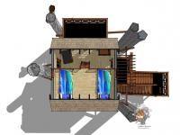 SMALL HOUSE: Istotą idei small house jest budowanie budynków umożliwiających jak najbardziej ekonomiczne gospodarowanie energią, oszczędność materiałów i przestrzeni.