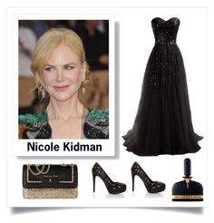 """nicole kidman"" by im-karla-with-a-k ❤ liked on Polyvore featuring Shirò, Patrizia Pepe and Tom Ford"