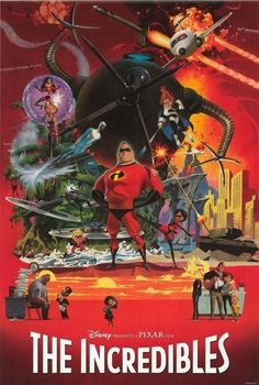 The Incredibles Unreleased Poster
