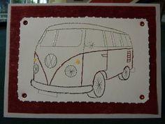 A Combi Van - Design by Form-A-Lines